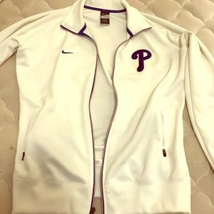 Womens Nike Phillies track jacket